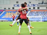 Manchester respire, latte-trick pour Leandro Trossard