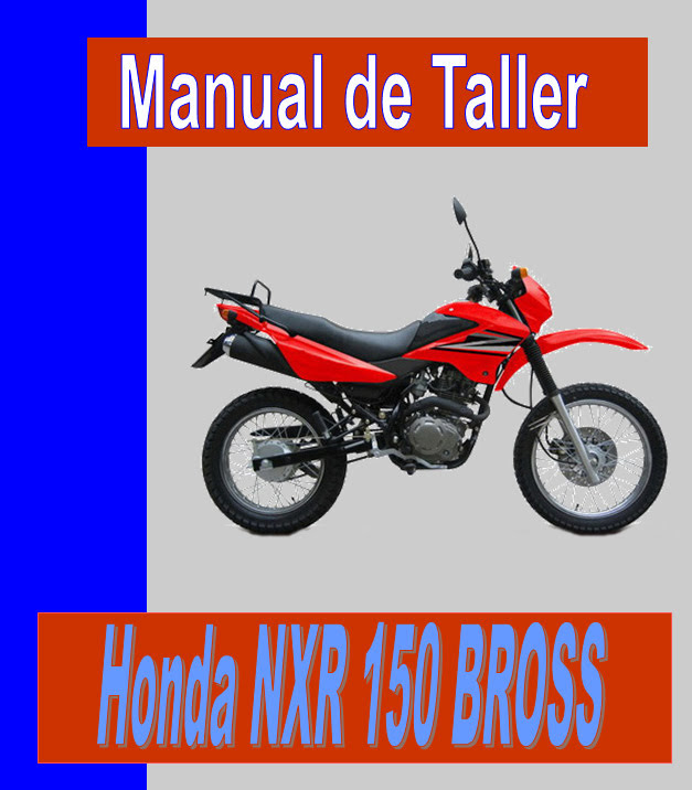 Honda XR 125 Bross  -manual-taller-mecanica-despiece