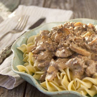 Easy Hamburger Stroganoff.