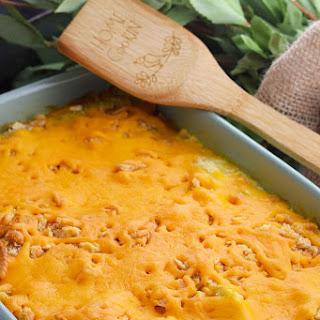 Cheesy Yellow Squash Casserole Recipe