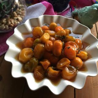 Honeycomb Kumquat Confit.