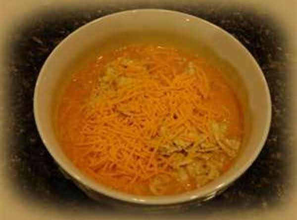 Nacho Cheese Vegetable Soup Recipe