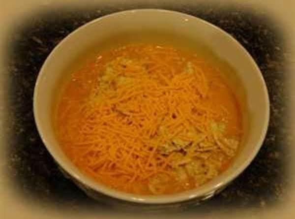 Nacho Cheese Vegetable Soup