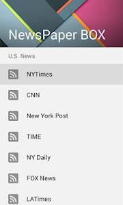 All NewsPaper BOX screenshot 0