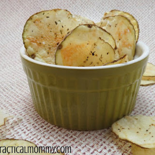 Homemade Potato Chips In The Microwave