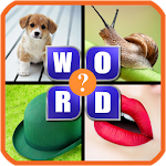 What The Word - 4 Pics 1 Word - Fun Word Guessing Icon