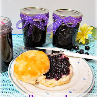 Simple Canning- How to Make Homemade Blueberry Jam!
