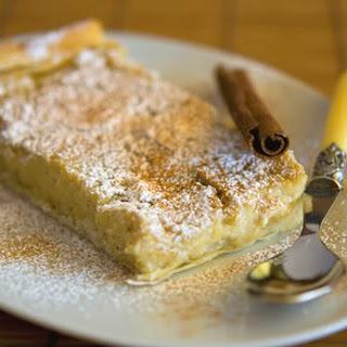SoyMilk Pie.