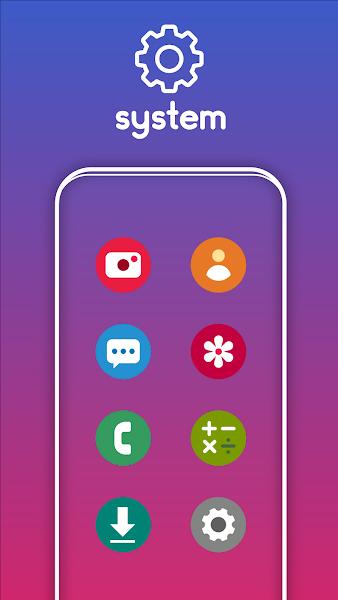 One UI Pixel - Icon Pack Screenshot Image
