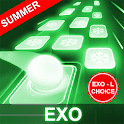 EXO Hop: Obsession KPOP Music Rush Dancing Tiles! icon