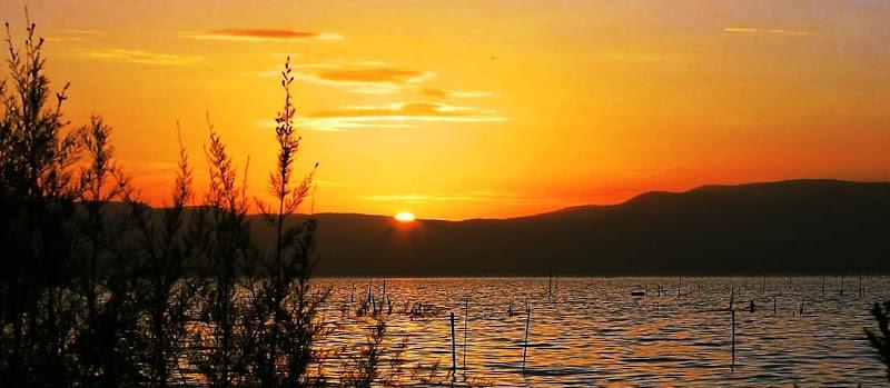 Tramonto su Lago di Varano di ElianaRonzullo