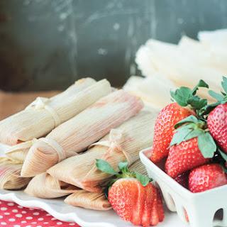 Vegan Strawberry Dessert Tamales Recipe