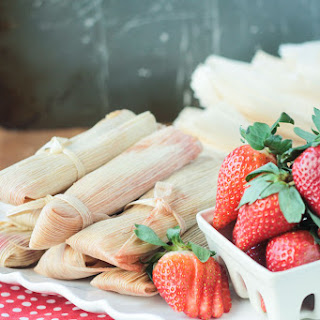 Vegan Strawberry Dessert Tamales.