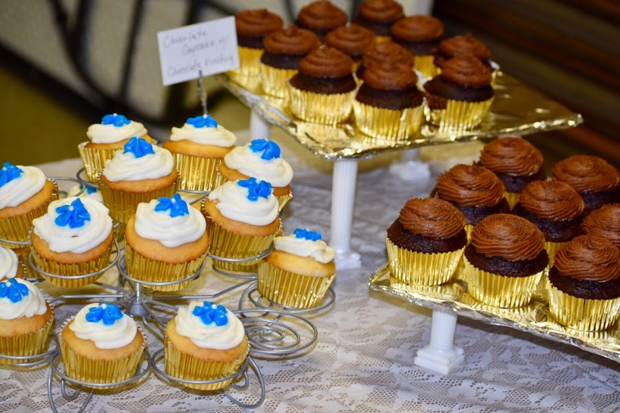 Cupcakes  by Mindi Baum-sherlin - Food & Drink Candy & Dessert ( chocolate, sweet, cupcakes, icing, party, dessert, sugar )