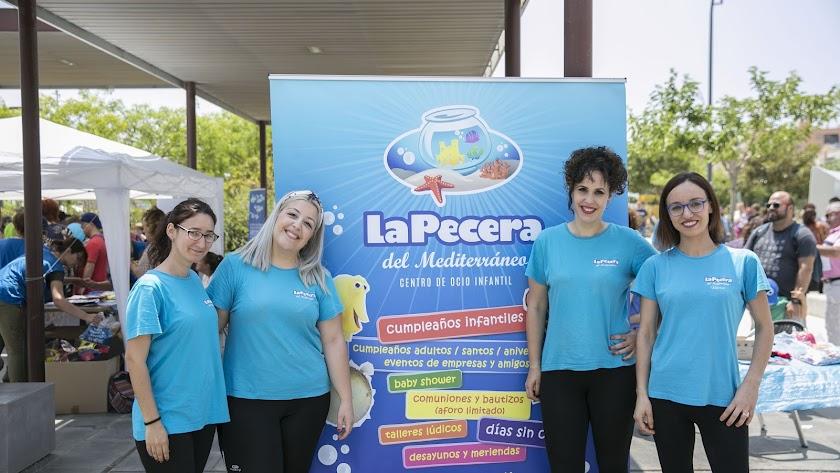 La Pecera Mediterráneo, ubicada en Calle Benizalón s/n, celebra fiestas infantiles, talleres lúdicos para niños de 2-7 años y su escuela de verano.
