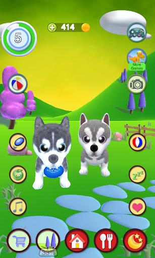 Talking Husky Dog apkdebit screenshots 5