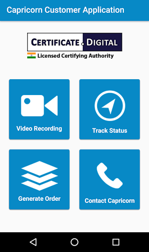 Capricorn Customer Application  screenshots 1