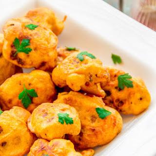 Crispy Cauliflower Fritters