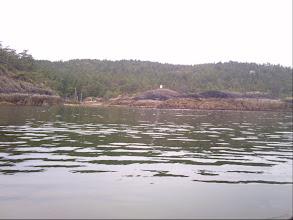 Photo: Squitty Bay on Lasqueti Island.