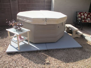 Photo: Thanks a lot for you courteous service and prompt delivery. It looks nice under my hot tub and good service is always appreciated.   Ann T., Goodyear, AZ