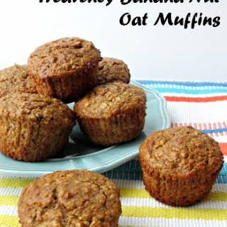 Heavenly Banana-Nut Oat Muffins.