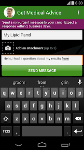 MyChart- screenshot thumbnail