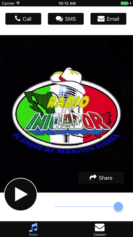 Radio Iniciador- screenshot