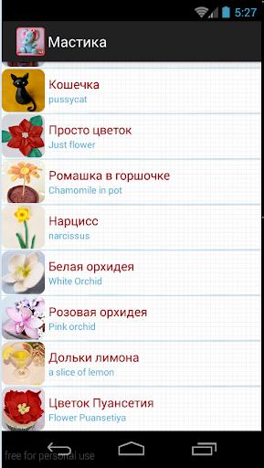 Цветы и фигурки из мастики