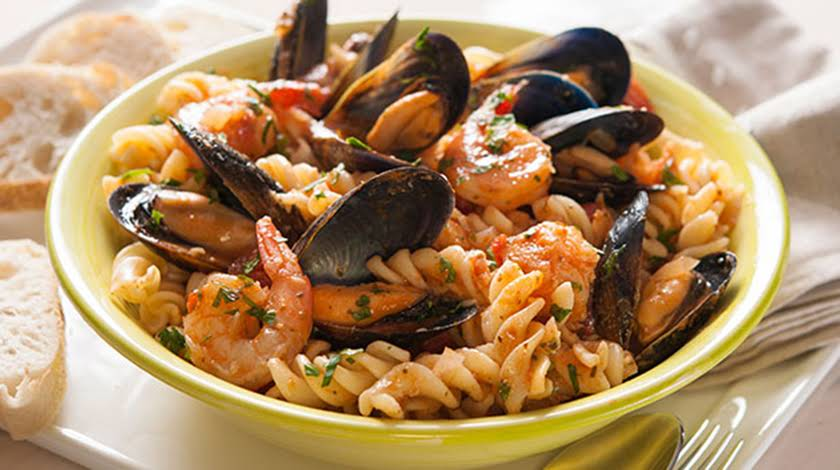 Pasta and Seafood Bowl