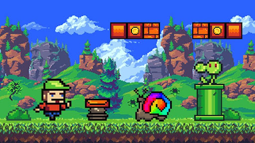 Super arcade. Pixel games adventure. Retro games ss2