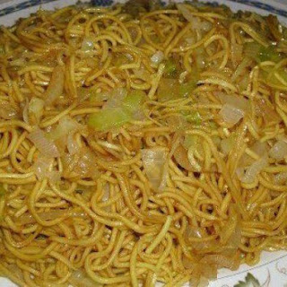 Chinese Fried Noodles.