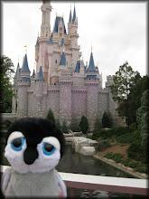 Photo: Carlisle in front of Cinderella Castle, Magic Kingdom (Walt Disney World)