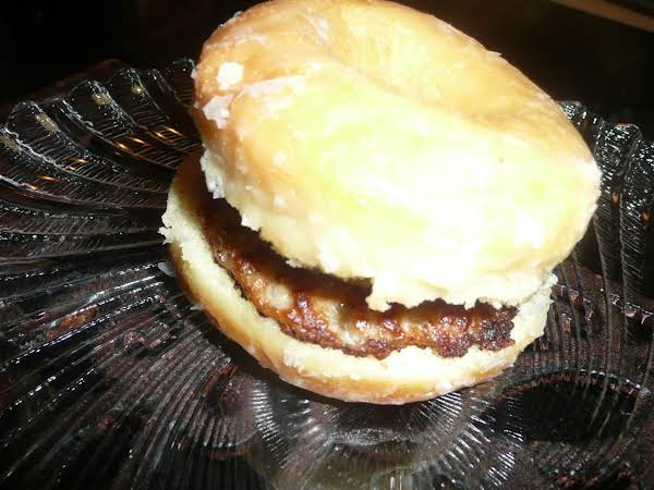 Donut Breakfast Sandwich Recipe