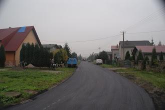 Photo: Kwiatowa - nowy asfalt, pierwsza warstwa
