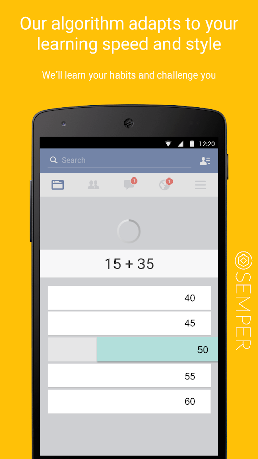 Semper: Learn Effortlessly- screenshot
