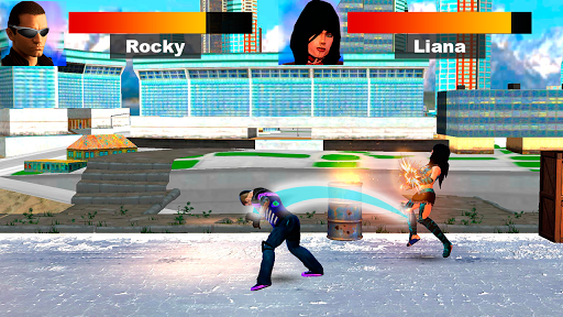Kung Fu Extreme Fighting - Kick Boxing Deadly Game 1.0 screenshots 3