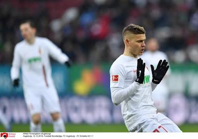 Alfred Finnbogason (ex-Lokeren) inscrit un triplé en Bundesliga !