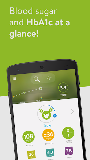 mySugr: the blood sugar tracker made just for you 3.54.6 screenshots 1