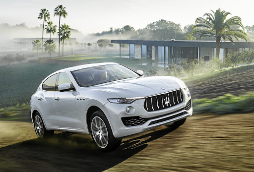 PEDIGREE: The Levante follows the rules on SUV design but with a Maserati twist.    Picture: NEWSPRESS UK