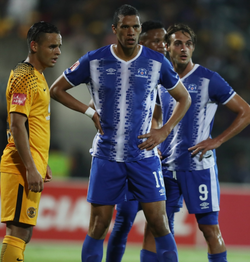 Maritzburg United captain Bevan Fransman looks on during the Absa Premiership match against Kaizer Chiefs at Harry Gwala Stadium on September 20, 2017 in Pietermaritzburg, South Africa.