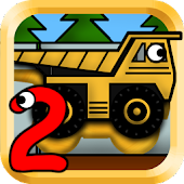 Kids Trucks: Puzzles 2 - Gold