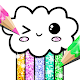 Kawaii Coloring Book Glitter APK