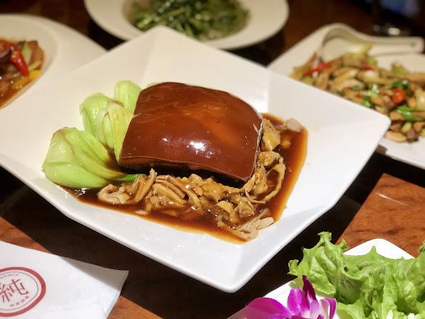 純chunmix 餐酒館 好了啦太大塊封肉 無敵下飯東區台菜選這間 大安台菜推薦、大安合菜推薦