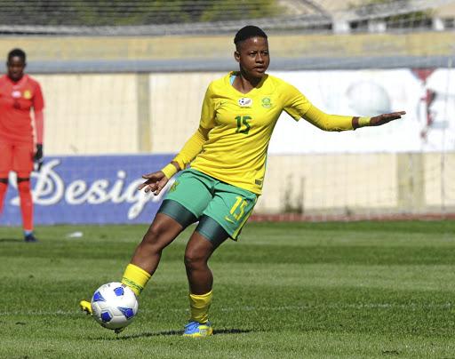 Banyana Banyana midfielder Refiloe Jane