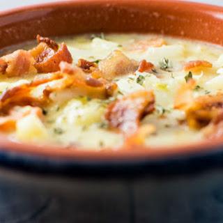 Creamy Cauliflower Gouda Soup