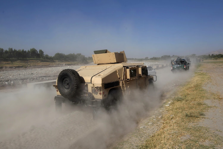 Afghan security forces in the Sorkhrod district of Jalalabad province. File Picture: REUTERS