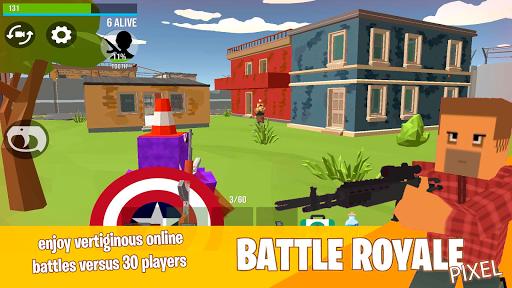Pixel Battle Royale Games - Deathmatch FPS Shooter 1.9 screenshots 1