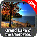 Grand Lake o the Cherokees Gps icon