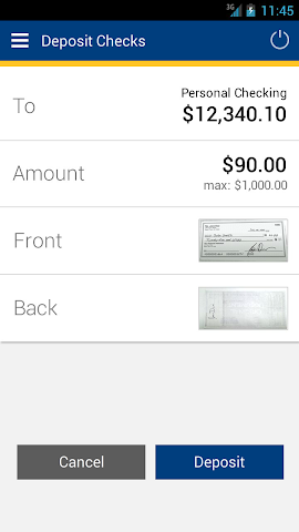 android MainSource Bank Screenshot 4