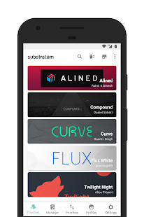 [Substratum] Curve Screenshot
